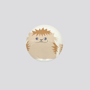 Angry cat design Mini Button