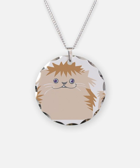 Angry cat design Necklace
