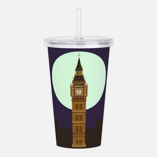 Big Ben Acrylic Double-wall Tumbler