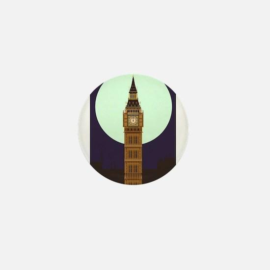 Big Ben Mini Button