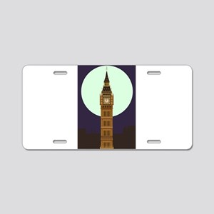 Big Ben Aluminum License Plate