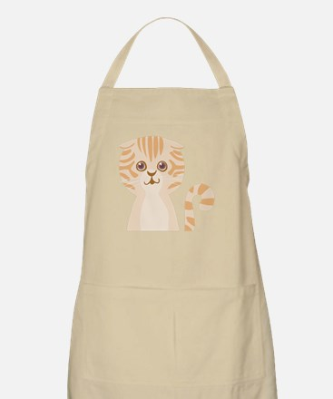 Lovely cat face Apron