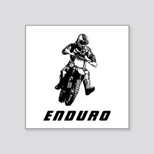 Enduro black Sticker