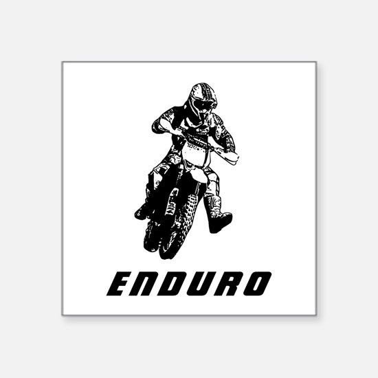 Enduro black Sticker