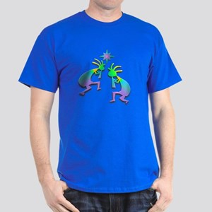 Two Kokopelli #36 Dark T-Shirt