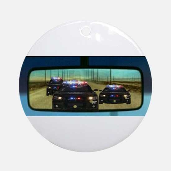 Drive it like you stole it! Round Ornament