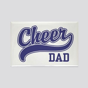 Cheer Dad Rectangle Magnet