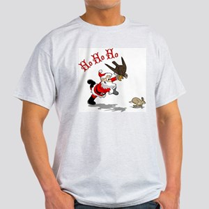Hunting Santa Light T-Shirt