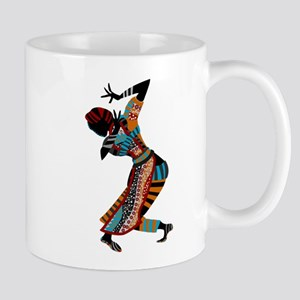 African woman dancing art Mugs