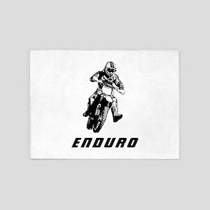 Enduro black 5'x7'Area Rug