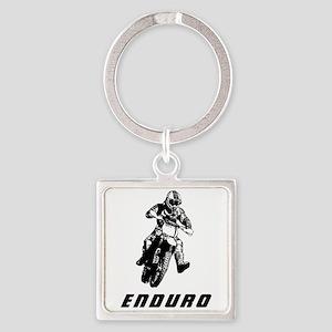 Enduro black Keychains
