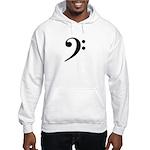 Bass Clef Hooded Sweatshirt