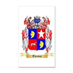 Thievin Rectangle Car Magnet