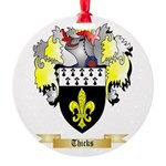 Thicks Round Ornament