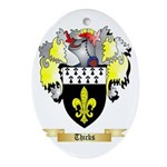 Thicks Oval Ornament