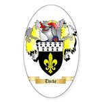 Thicke Sticker (Oval 50 pk)