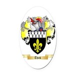Thick Oval Car Magnet