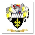 Thick Square Car Magnet 3