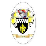 Thick Sticker (Oval 50 pk)
