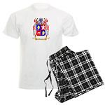 Thevet Men's Light Pajamas