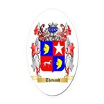 Thevand Oval Car Magnet