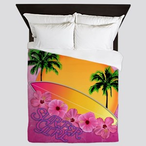 Surfer Girl Queen Duvet