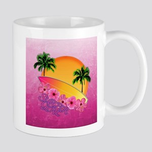 Surfer Girl Mugs