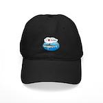 I Love Surfers Black Cap