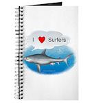 I Love Surfers Journal