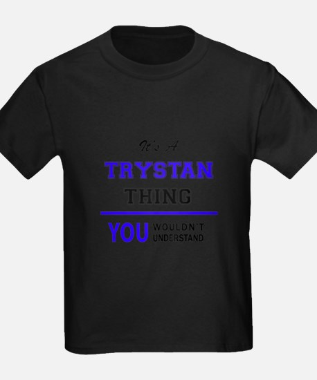 It's TRYSTAN thing, you wouldn't understan T-Shirt