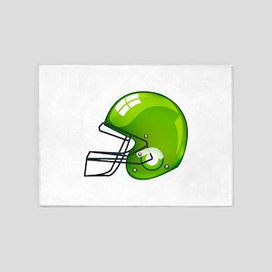 American green football gridiron he 5'x7'Area Rug