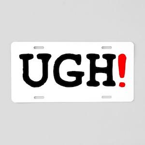 UGH! Aluminum License Plate