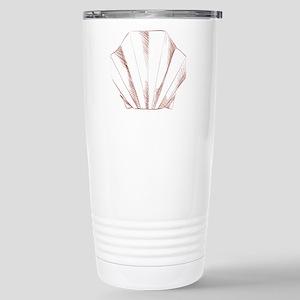 Oyster paper art origam Stainless Steel Travel Mug