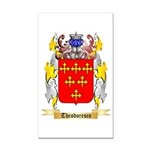 Theodoresco Rectangle Car Magnet