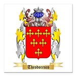 Theodoresco Square Car Magnet 3