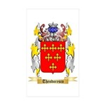 Theodoresco Sticker (Rectangle 10 pk)