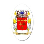Theodoresco 20x12 Oval Wall Decal