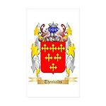 Theobalds Sticker (Rectangle 50 pk)