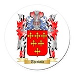 Theobald Round Car Magnet