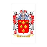 Theobald Sticker (Rectangle 50 pk)