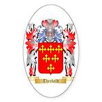 Theobald Sticker (Oval 50 pk)