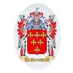Theobald Oval Ornament