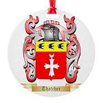 Thatcher Round Ornament