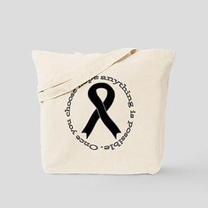 Black Hope Tote Bag