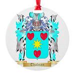 Thalman Round Ornament