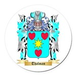 Thalman Round Car Magnet