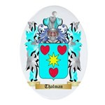 Thalman Oval Ornament