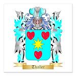 Thaller Square Car Magnet 3