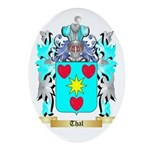 Thal Oval Ornament