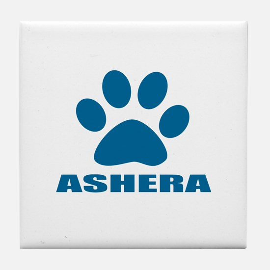 Ashera Cat Designs Tile Coaster